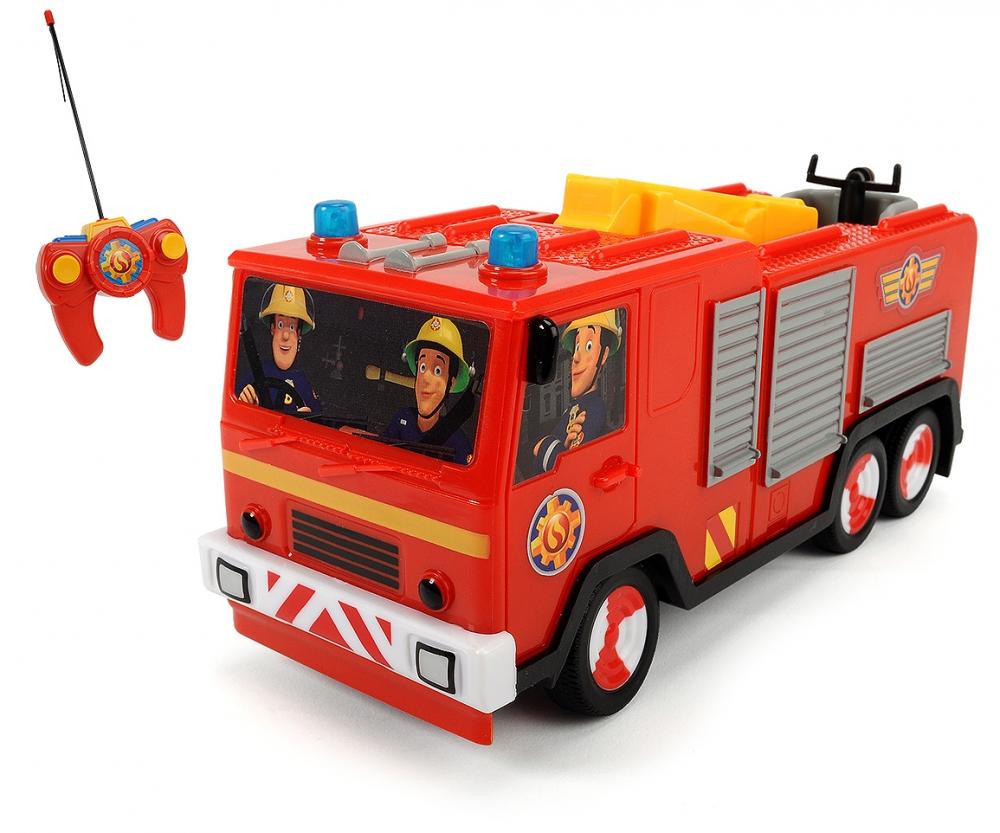 Rc fireman sam jupiter sam le pompier licences marques produits - Camion pompier sam ...