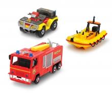 DICKIE Toys Fireman Sam 3 Pack