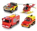 DICKIE Toys Fireman Sam 4 Pack