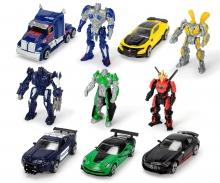 DICKIE Toys SURTIDO FIGURITAS+COCHES TRANSFORMERS, 10 MODELOS