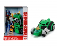 DICKIE Toys TRANSFORMERS VEHÍCULO TRANSFORMABLE GRIMLOCK, 15 CM