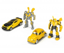 DICKIE Toys Transformers Bumblebee M6 4-Pack