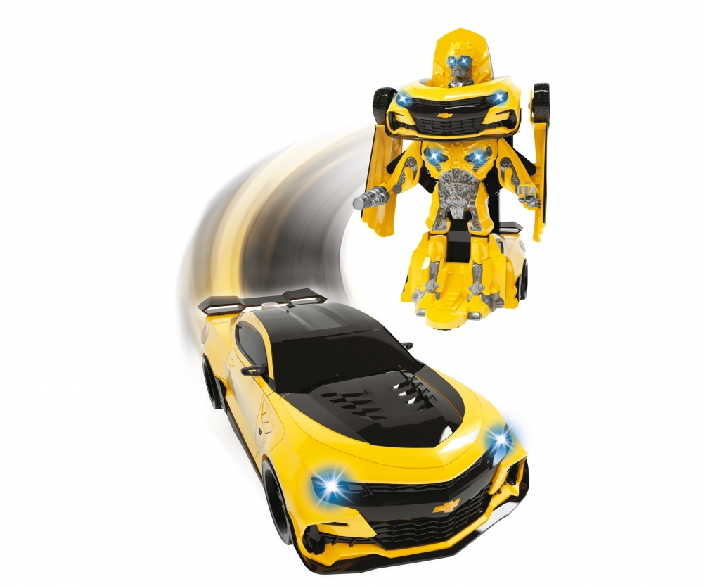 Dickie Toys 203113025 Transformers Robot Fighter Bumblebee