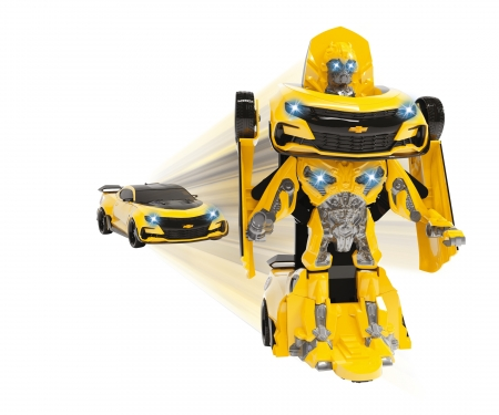 DICKIE Toys Transformers M5 Robot Fighter Bumblebee