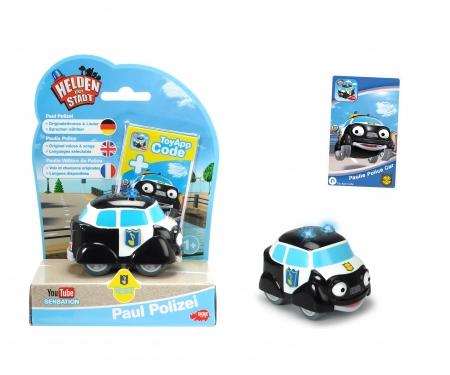 DICKIE Toys Helden der Stadt Paul Polizei