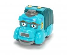 DICKIE Toys Les héros de la ville Gary le camion poubelle