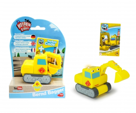 DICKIE Toys Heroes of the City Digsy Digger