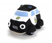 DICKIE Toys Helden der Stadt Plüschauto Paul Polizei