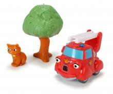DICKIE Toys Les héros de la ville Fiona sauve le chat