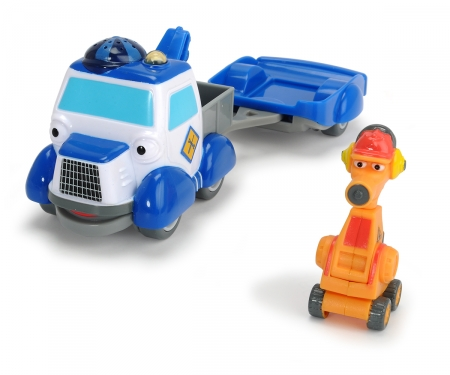 DICKIE Toys Heroes of the City - Playset 2 - Helpers on the Road
