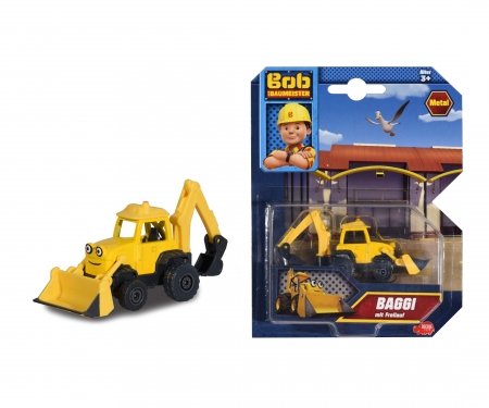 DICKIE Toys Scoup Die-Cast Bob le bricoleur