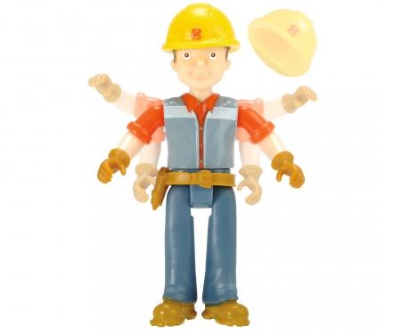 DICKIE Toys Équipe d'action Baggi Bob le bricoleur + Bob