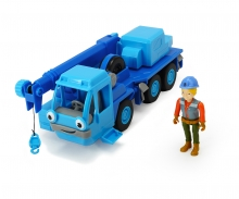 DICKIE Toys Bob the Builder Action Team Lofty + Wendy