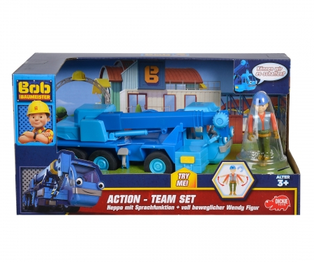 DICKIE Toys BtB Action-Team Heppo