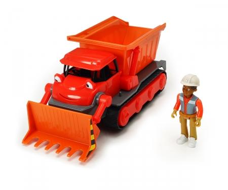 DICKIE Toys Bob der Baumeister Action-Team Buddel + Leo