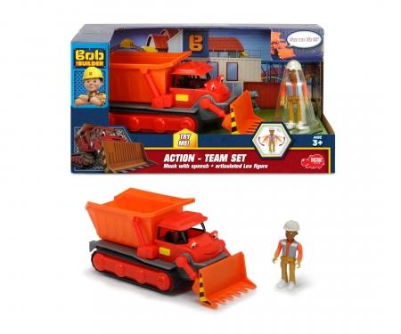 DICKIE Toys Équipe d'action Ben Bob le bricoleur+ Léo