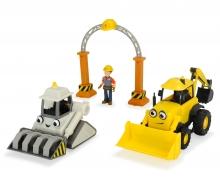 DICKIE Toys Bob der Baumeister Garagen Set