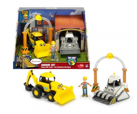 DICKIE Toys Set de garage Bob le bricoleur