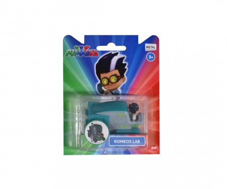 DICKIE Toys PJ Mask Single Pack Romeos Lab