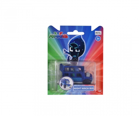 DICKIE Toys PJ Mask Single Pack Night Ninja Bus