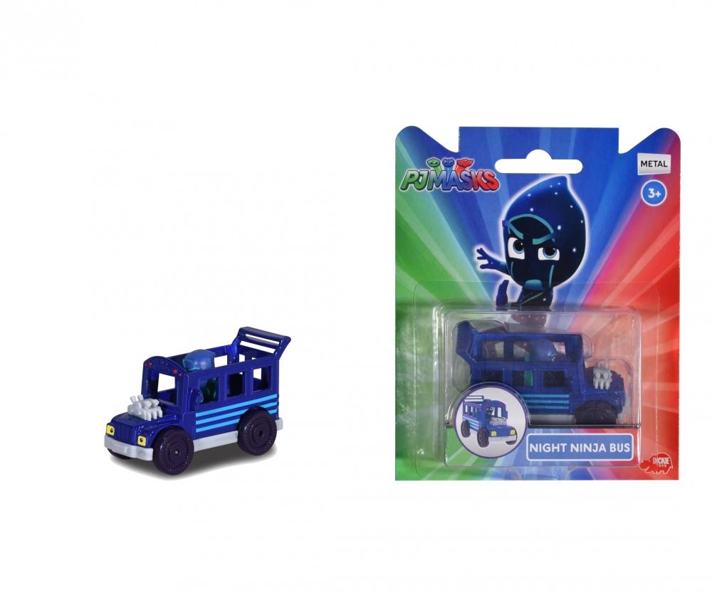 Pj Mask Single Pack Night Ninja Bus Pj Masks Known From Tv Brands Products Www Dickietoys De