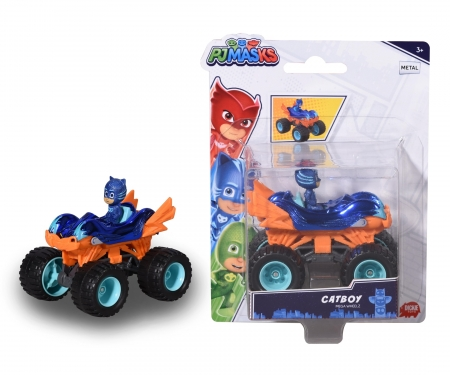 DICKIE Toys PJ Masks Cat-Boy on Mega Wheels