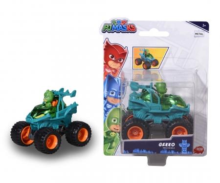 DICKIE Toys PJ Masks Gecko auf Mega Wheels