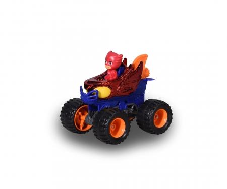 DICKIE Toys PJ Masks Euelette auf Mega Wheels
