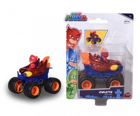 DICKIE Toys PJ Masks Owlette on Mega Wheels