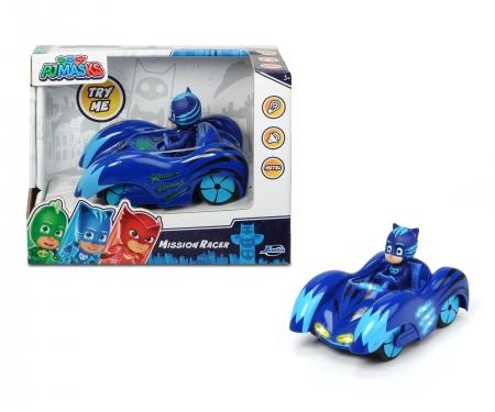DICKIE Toys PJ Masks Mission Racer Chat-Bolide