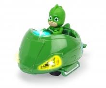 DICKIE Toys GEKKO CON VEHÍCULO PJ MASKS