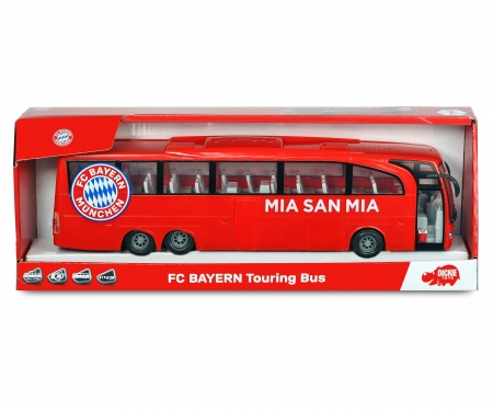 DICKIE Toys FC Bayern Touring Bus