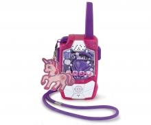 DICKIE Toys Pink Drivez Walkie Talkie