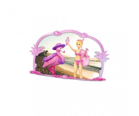 DICKIE Toys Pink Drivez Flamingo Jeep