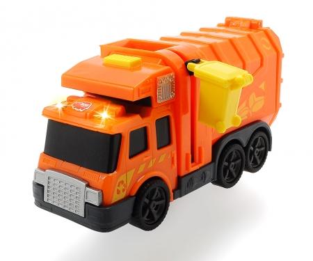 DICKIE Toys CAMIÓN BASURA LUZ Y SONIDO 15 CM