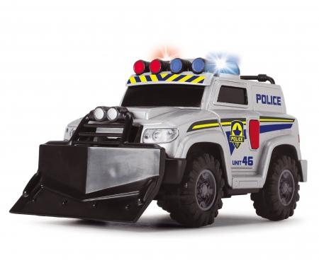 DICKIE Toys COCHE POLICÍA LUZ Y SONIDO 15 CM