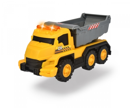 DICKIE Toys Dump Truck with light and sound