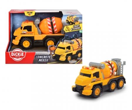 DICKIE Toys Betonmischer mit Licht und Sound