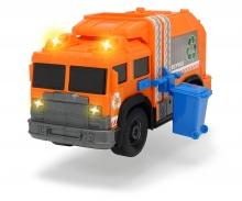 DICKIE Toys CAMIÓN DE RECICLAJE LUZ Y SONIDO 30 CM