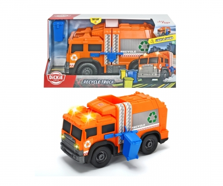 DICKIE Toys Recycle Truck