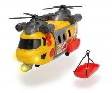 DICKIE Toys HELICÓPTERO DE RESCATE LUZ Y SONIDO 30 CM
