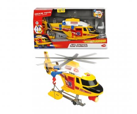 DICKIE Toys Air Patrol Hélicoptère de sauvetage