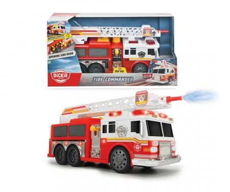DICKIE Toys COCHE BOMBEROS CON FUNCIÓN 36 CM