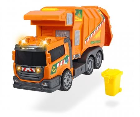 DICKIE Toys CAMIÓN RECOLECTOR DE BASURA LUZ Y SONIDO 39 CM
