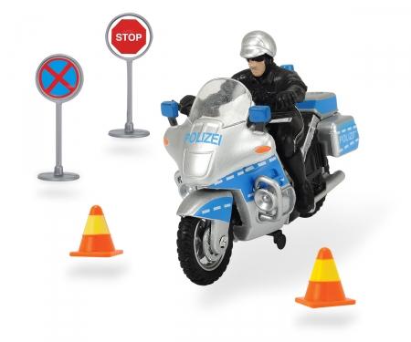 DICKIE Toys Polizeimotorrad Set