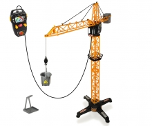 DICKIE Toys MEGA GRÚA CON CONTROL POR CABLE 100 CM