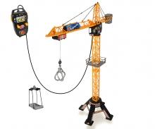 DICKIE Toys MEGA GRÚA CON CONTROL POR CABLE 120 CM