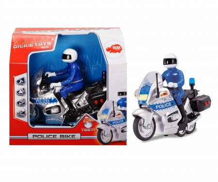 DICKIE Toys Police Bike