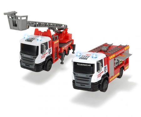 DICKIE Toys Scania Fire Engine, 2-asst.