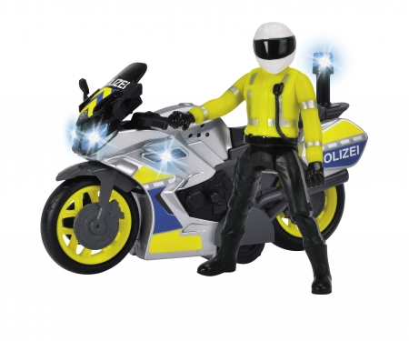 DICKIE Toys Yamaha Polizeimotorrad